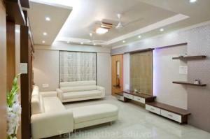 Phòng khách với thiết kế nhà ống