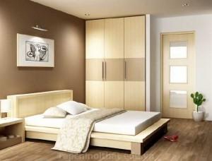 Phòng ngủ lãng mạn cho không gian yêu