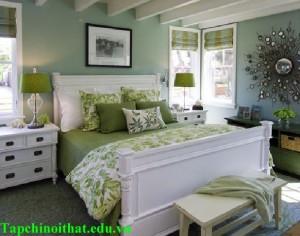 Phòng ngủ rộng hơn nhờ biết tận dụng màu sắc
