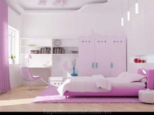 Phòng ngủ trẻ em hợp phong thủy