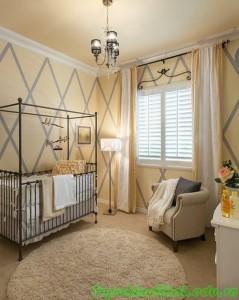 Trang trí phòng ngủ cho bé tuổi ngựa