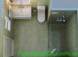 Thiết kế phòng tắm cho căn hộ chung cư