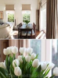 Trang trí căn phòng với những đóa hoa tỏa mùi hương