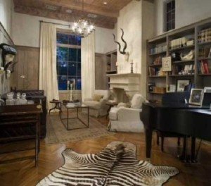 Trang trí nhà với họa tiết ngựa vằn nổi bật