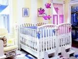 Thiết kế nội thất phòng ngủ đáng yêu cho bé sinh đôi