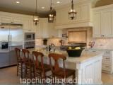 Thiết kế nội thất tủ bếp cho căn hộ chung cư