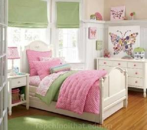 Trangt rí phòng ngủ hợp phong thủy cho trẻ