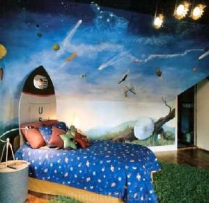 Ý tưởng độc đáo cho màu sắc phòng ngủ của trẻ em