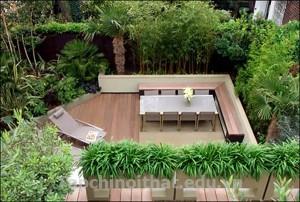 Kiến trúc vườn cho sân thượng đẹp