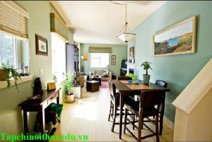 Bố trí cho phòng khách dài và hẹp