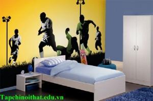 Trang trí phòng ngủ cho bé trai cực chất