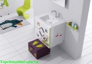 Những mẫu phòng tắm siêu kute cho bé yêu