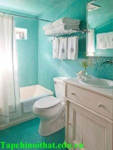Phòng tắm nhỏ, bài trí sao cho đẹp?