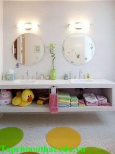 Ma thuật cho phòng tắm nhỏ siêu gọn