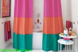 Những mẫu rèm nhà tắm độc đáo