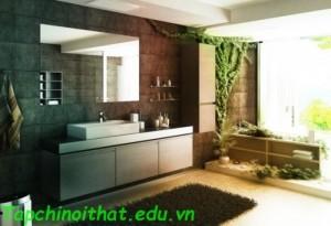 Nét nghệ thuật nổi bật của phòng tắm