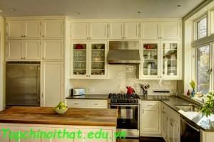 Không gian nhà bếp mang phong cách hiện đại