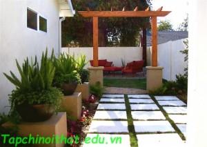 Không gian sân vườn đẹp