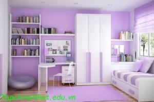 Màu sắc phòng ngủ dành cho trẻ