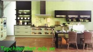 Những lợi ích của màu sắc trong nhà bếp