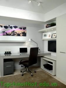 Mẫu thiết kế văn phòng đơn giản
