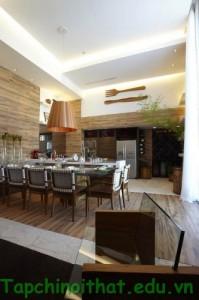 Vật liêu gỗ trong nội thất gia đình