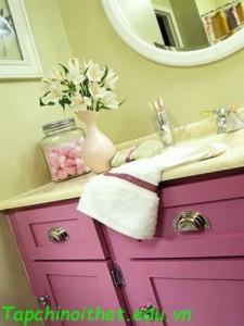 Ý tưởng thiết kế phòng tắm cho teen