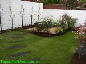 Không gian sân vườn nhà