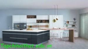 Ý tưởng thiết kế nhà bếp 'nhị sắc' Bicolor