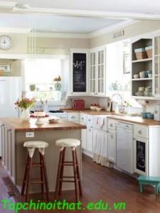 Ý tưởng sáng tạo thiết kế nhà bếp nhỏ