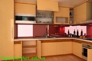 Thiết kế tủ bếp tiện nghi và sang trọng