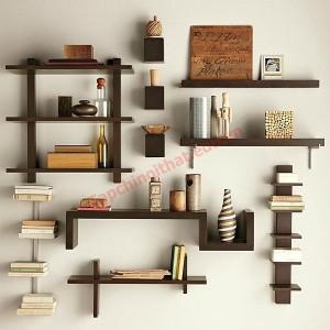 Một chiếc kệ hoàn toàn có thể là một vật trang trí tuyệt vời cho tường nhà bạn.