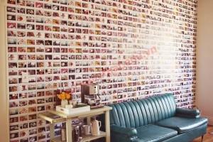 Một bức tường bằng ảnh không chỉ đẹp mà còn vô cùng độc đáo.