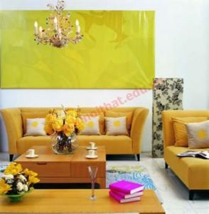 Đặt sofa hình chữ U mang lại thịnh vượng