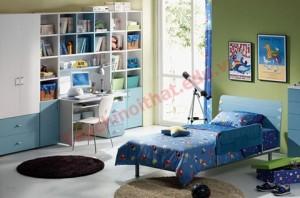 Căn phòng nam tính dành cho bé trai