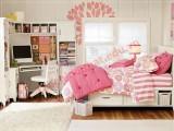 Màu hồng phấn dịu dàng, nữ tính cho phòng bé gái