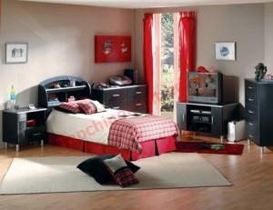 Đầu giường phải được kê sát tường, cửa sổ luôn có rèm che