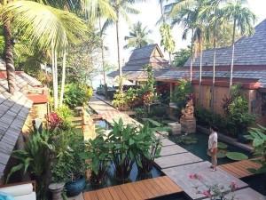 khu vực riêng biệt tại Khu nghỉ dưỡng để nghỉ ngơi và tránh những tiếp xúc ồn ào bên ngoài.