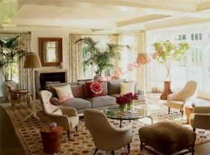 Phòng khách cũng phải đảm bảo yêu cầu như độ thông thoáng và ánh sáng