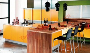 Sắp xếp đồ dùng hợp lý để tiết kiệm không gian và thời gian cho người nấu