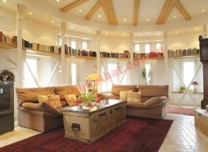 Phong thủy phòng khách trong môi trường hiện đại được coi là một bộ phận chính của căn nhà