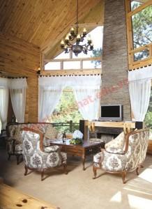 Chức năng chính của phòng khách là nơi đón tiếp khách, nên cần có vị trí để ngồi nói chuyện, giao tiếp giữa chủ và khách
