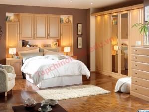 Phòng ngủ cần tránh dùng những đồ vật tương phản với nhau để trang trí