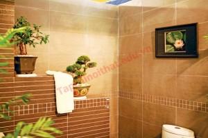Với một căn nhà mới khi còn chưa xây dựng, hoàn toàn có thể thiết kế một toilet có màu sắc và vị trí hoàn hảo
