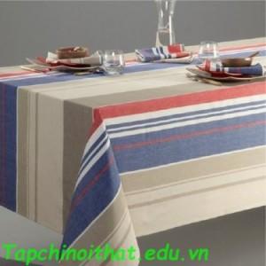 Phong cách trang trí khăn trải bàn