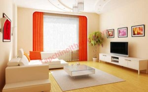 Khi lựa chọn màu sắc cho bàn trà và ghế sofa