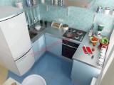 Phòng bếp đẹp nhờ phong thủy