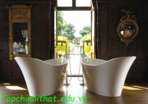Bộ sưu tập bồn tắm 'Freestanding' hiện đại