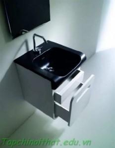 Phòng tắm kèm theo tủ lưu trữ