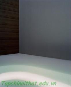 Đèn led viền xung quanh bồn tắm